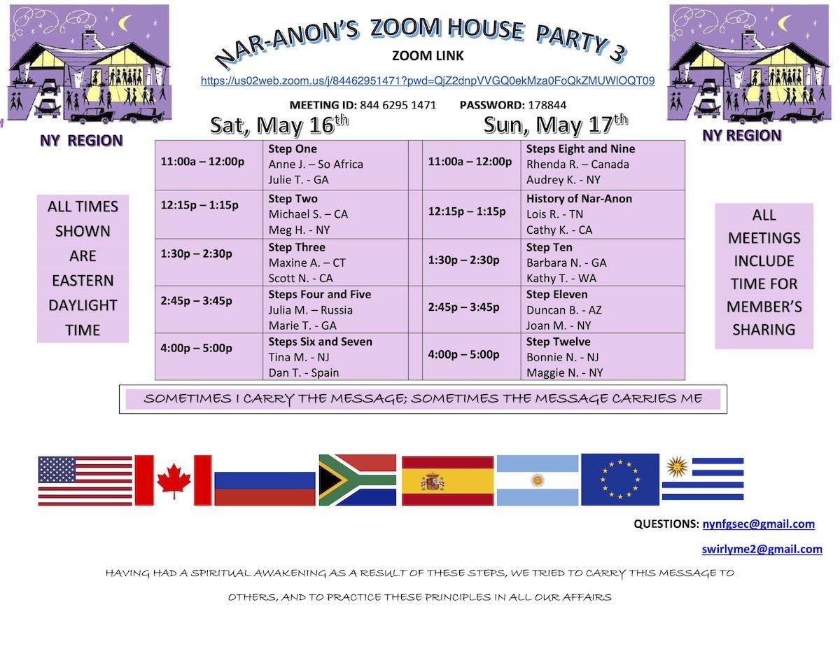 Домашняя вечеринка Нар-Анона-3