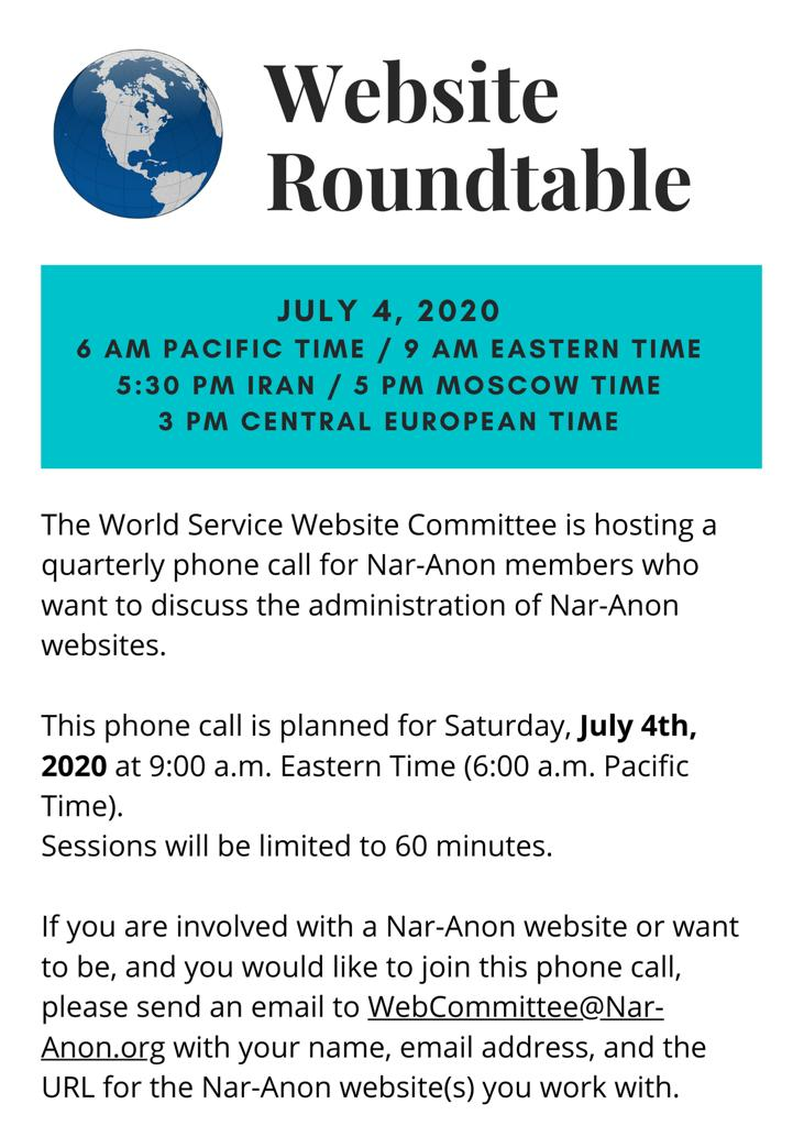 Website Roundtable
