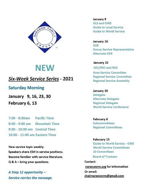 Серия семинаров по обслуживанию. Тема: Руководство по всемирному обслуживанию.