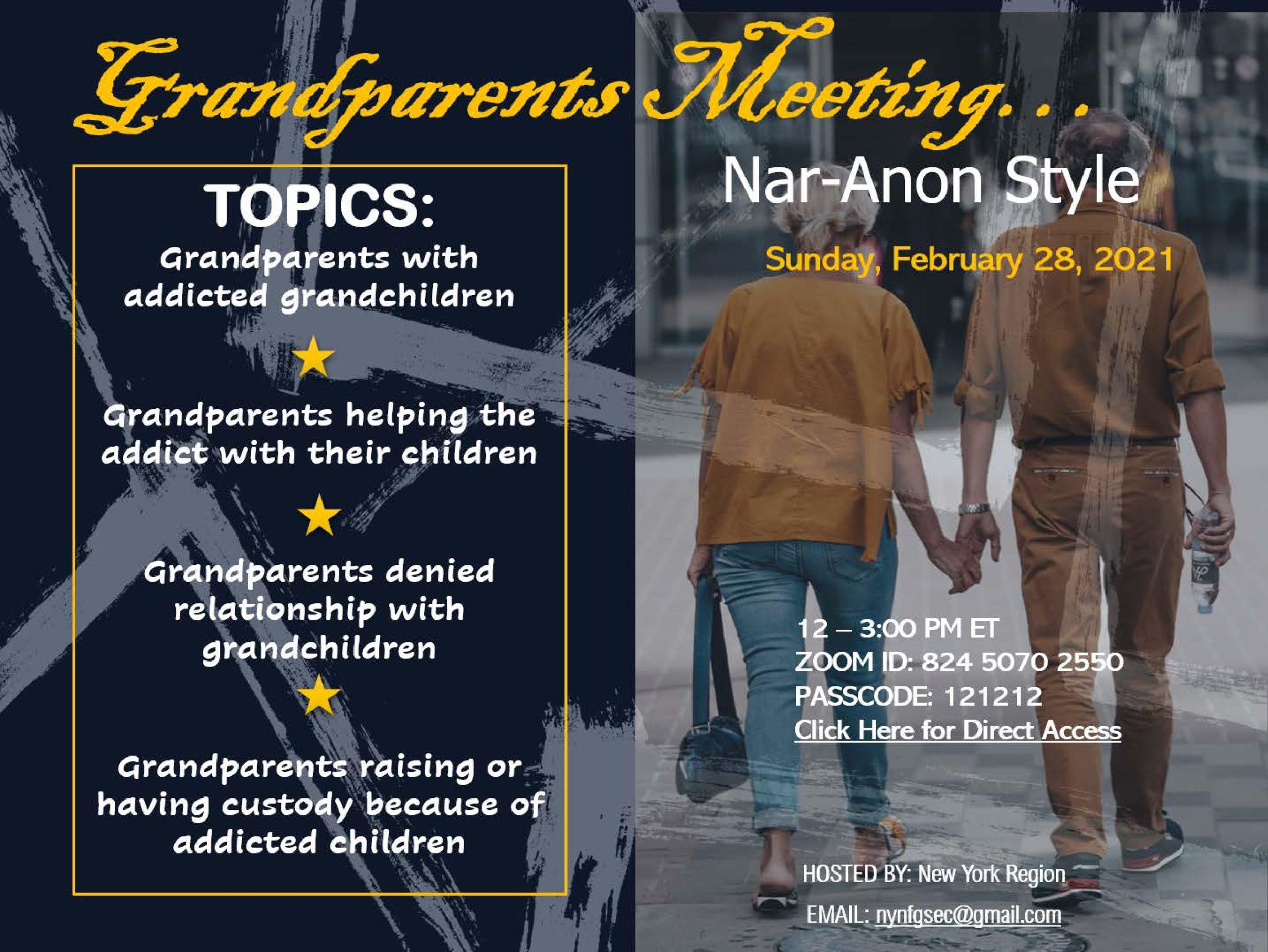 Собрание бабушек и дедушек